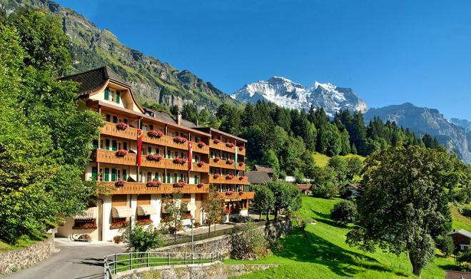 فندق البينروسا فى سويسرا 2013_ السياحة فى سويسرا