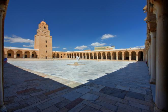 اجمل اماكن تونس السياحية 2013_ الجامع الكبير فى قيروان ( تونس)