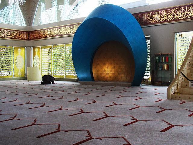 مسجد الشاكرين Şakirin أول مسجد تصممه إمرأة