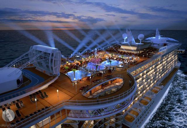خيال؟؟ بل فوق الخيال . بالصور ::: السفينة الملكية التي ستنطلق بها دوقة كامبريدج