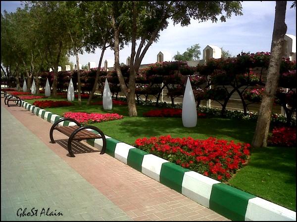 من أكبر حدائق الورد أين !! في الإمارات (العين) بالصور