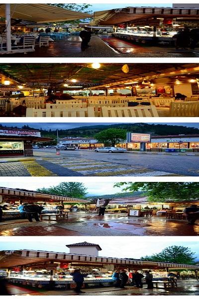 سوق السمك في منطقة فتحية ( Fethiye) في تركيا