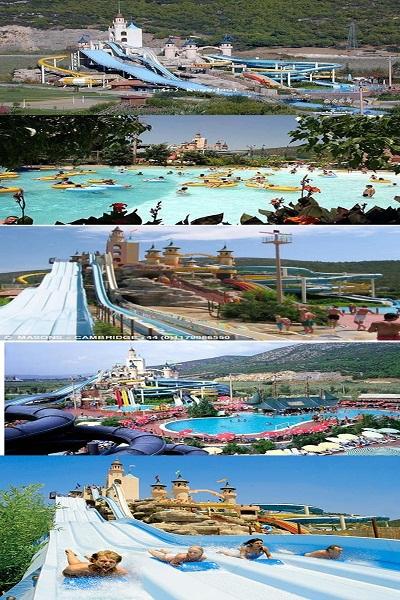 الحديقة المائية (Aquafantasy) في كوساداسي , تركيا